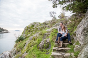 Engagement stairs